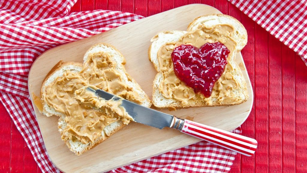 vegan peanut butter and jelly