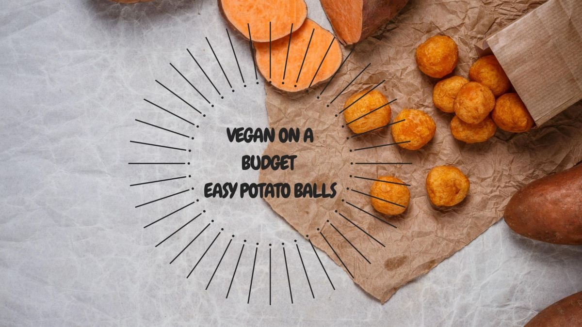 Easy vegan potato balls