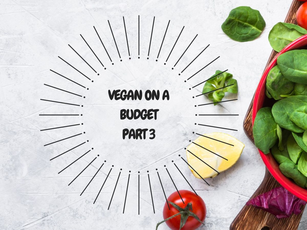 how to be vegan on a budget