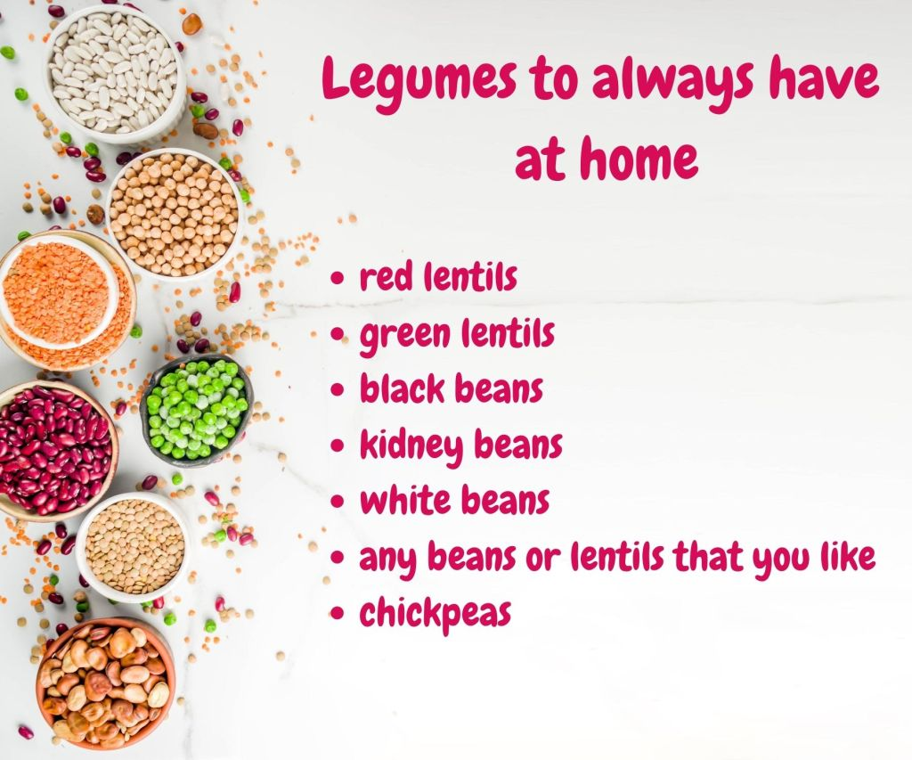 vegan tips for legumes
