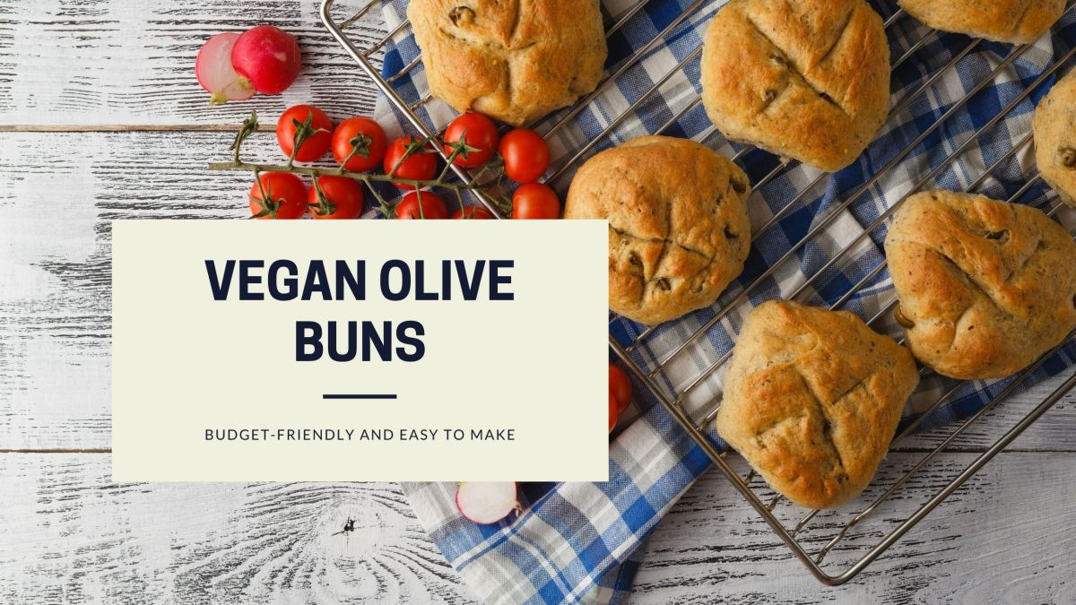 easy vegan buns