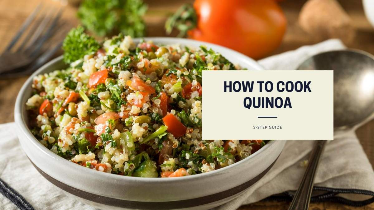 how to cook quinoa vegan