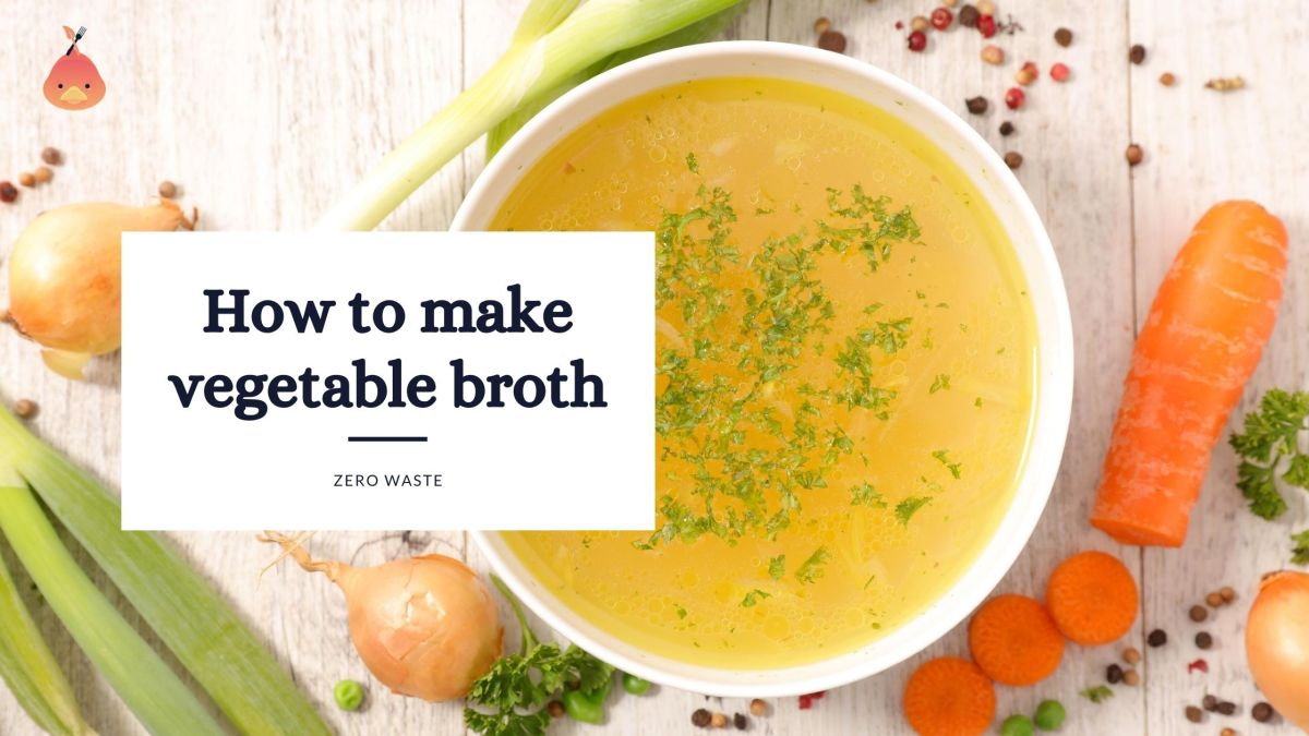 how to make vegetable broth