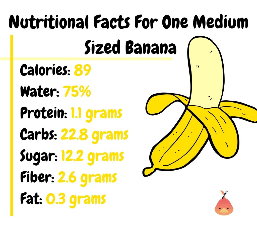vegan banana nutrition