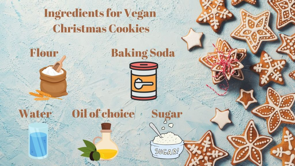 vegan christmas cookie ingredients